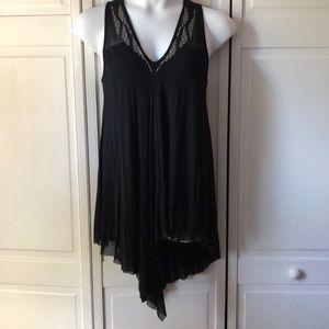 Embellished black Lane Bryant tunic-dress, 14/16